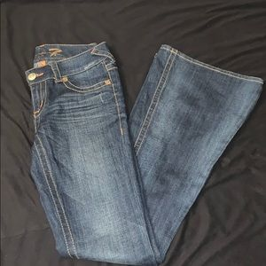 Seven7 Jeans extreme flare bell bottoms
